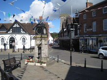 Much Wenlock, High Street and Wilmore Street, Shropshire © Nigel Thompson